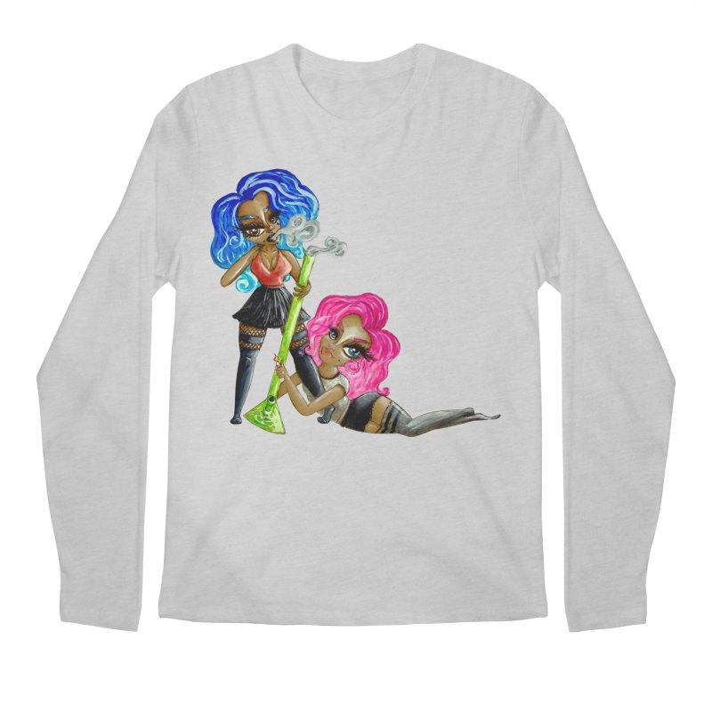 420 Team Players Men's Longsleeve T-Shirt by CharOne's Artist Shop