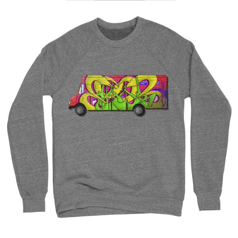 Postal Truck Piece Women's Sweatshirt by CharOne's Artist Shop