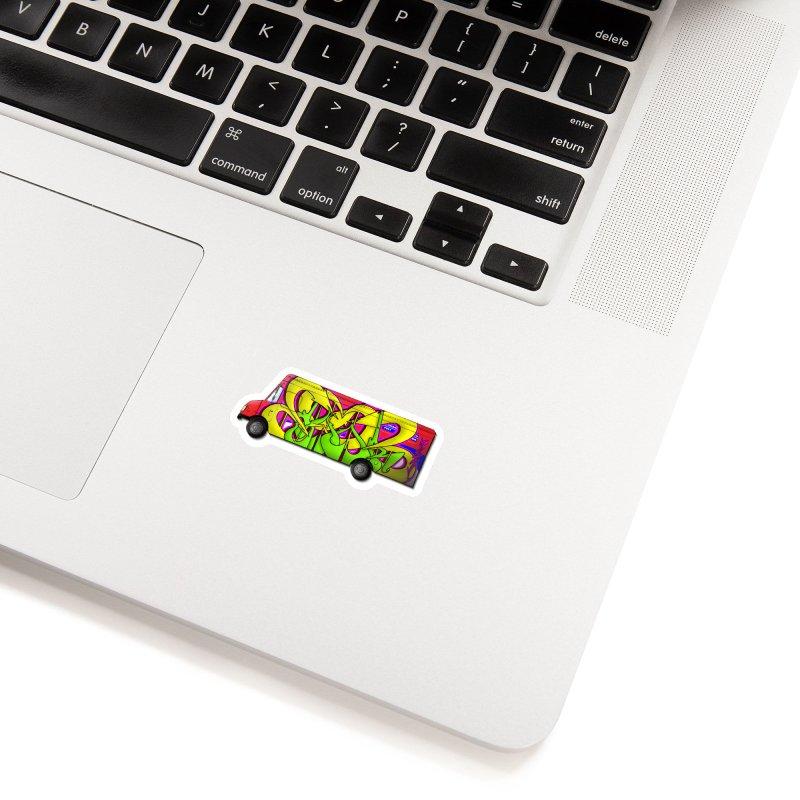 Postal Truck Piece Accessories Sticker by CharOne's Artist Shop