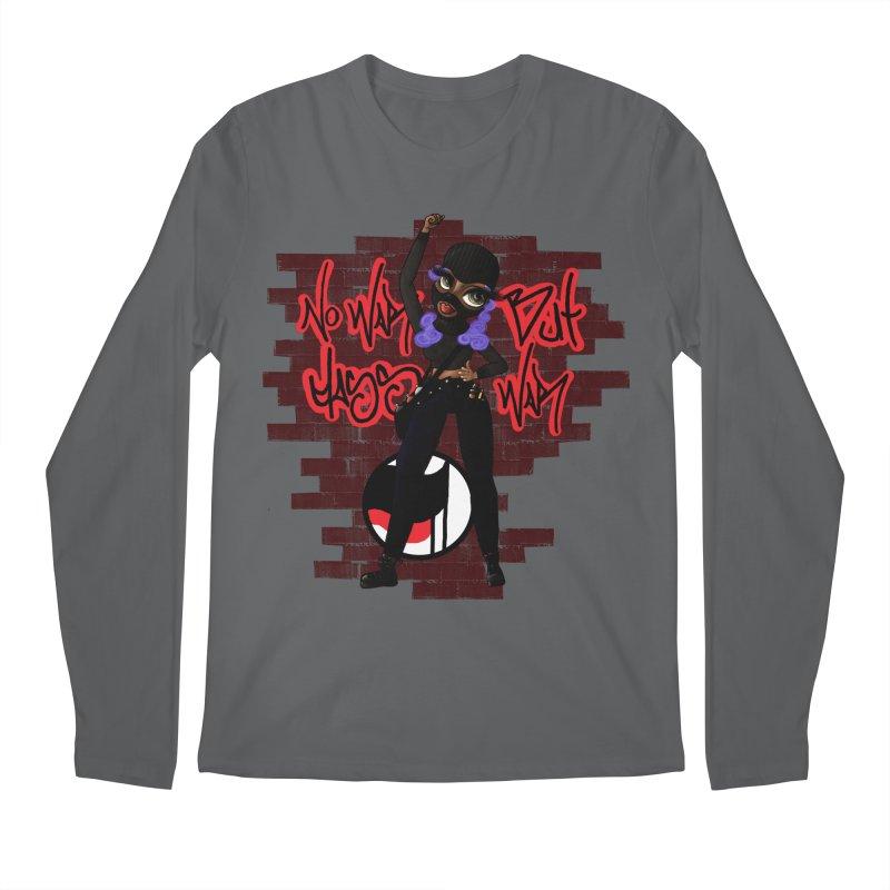 No War But Class War! Men's Longsleeve T-Shirt by CharOne's Artist Shop