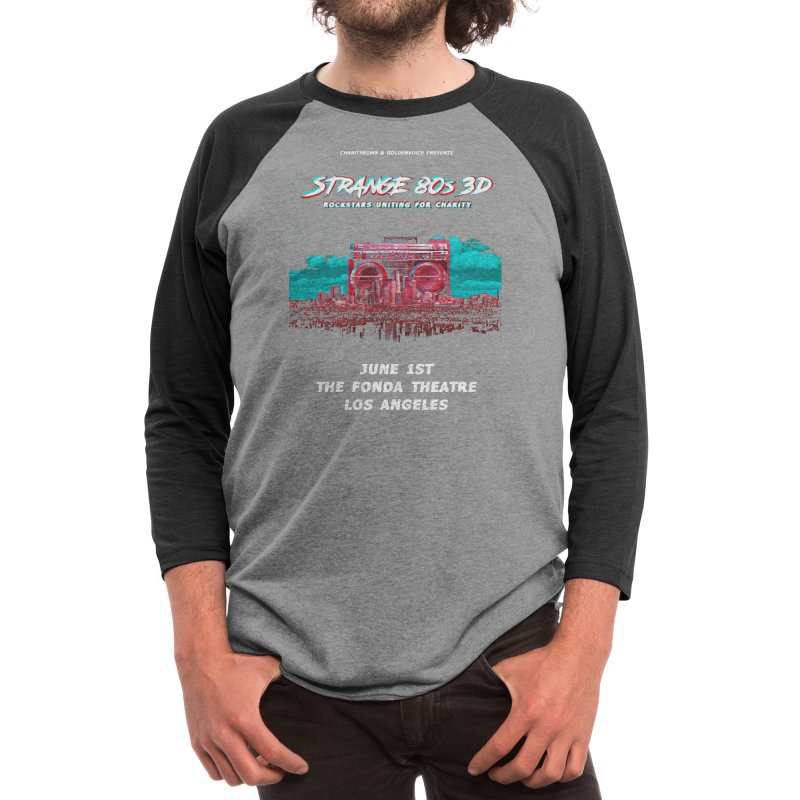 Strange 80s Men's Longsleeve T-Shirt by Charity Bomb