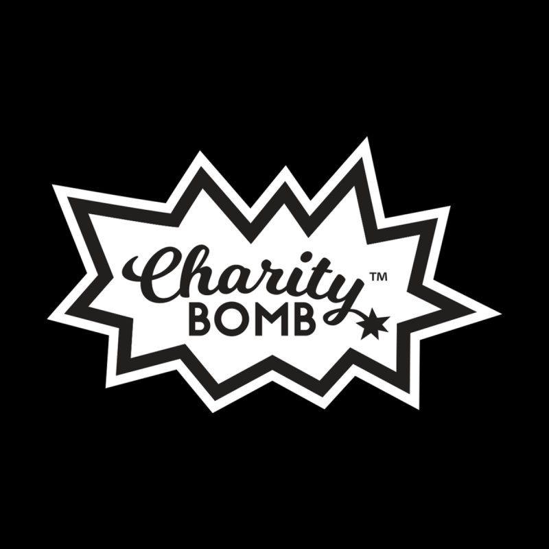 Charity bomb logo Men's T-Shirt by Charity Bomb