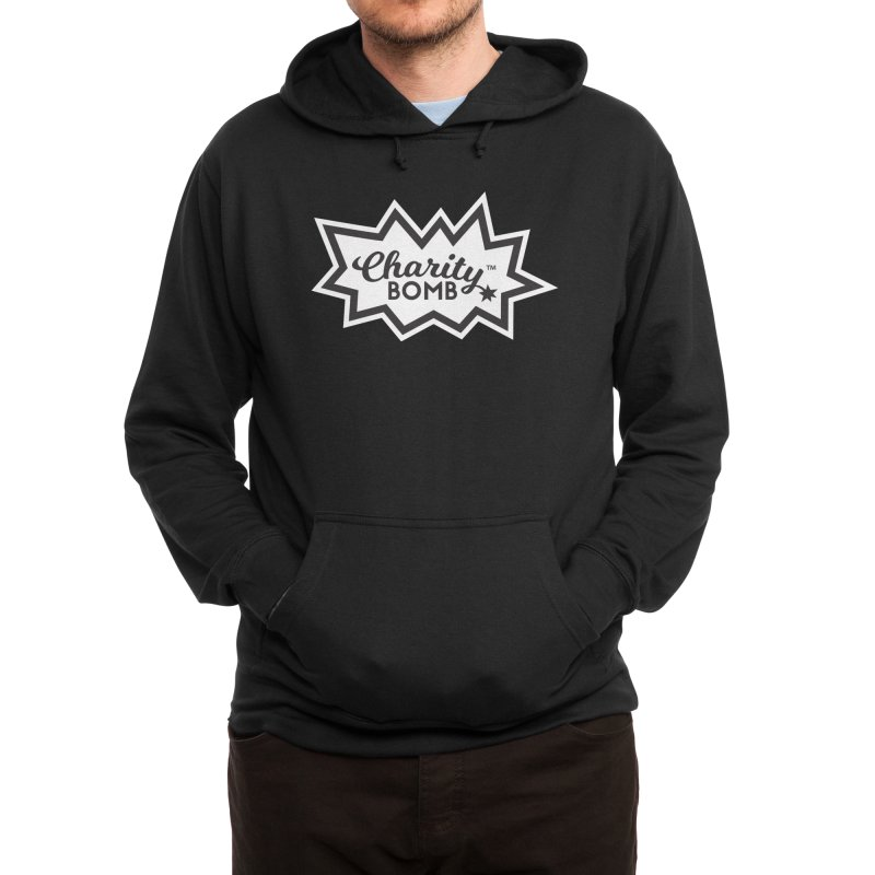 Charity bomb logo Men's Pullover Hoody by Charity Bomb