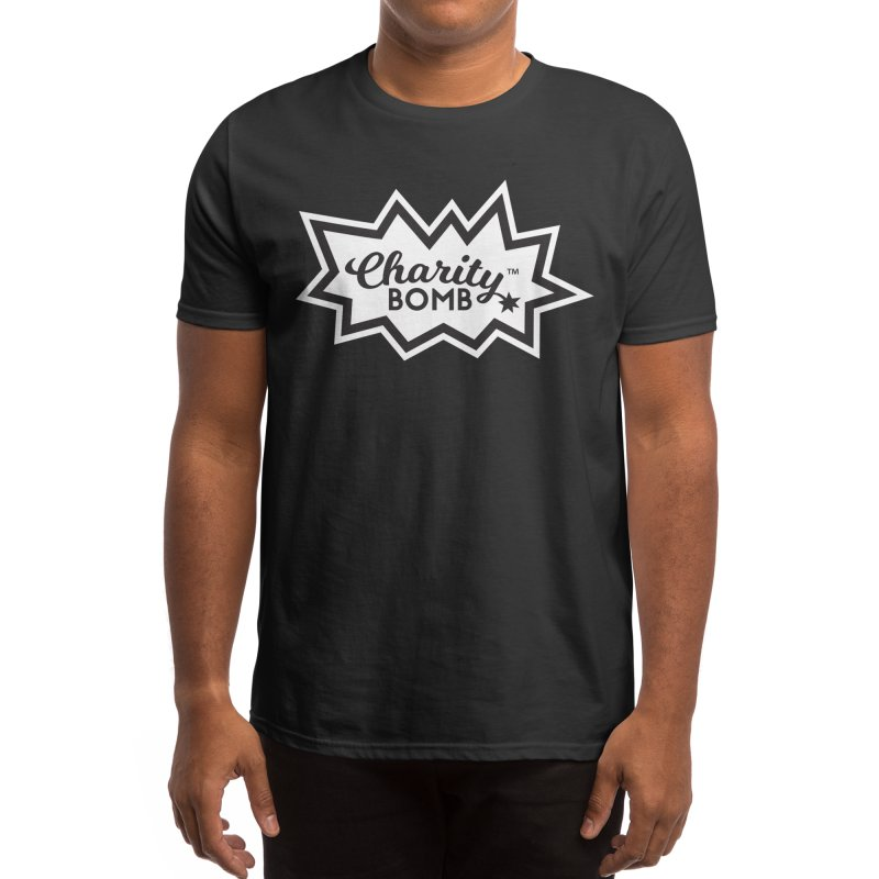 Charity bomb logo Men's T-Shirt by Charity Bomb