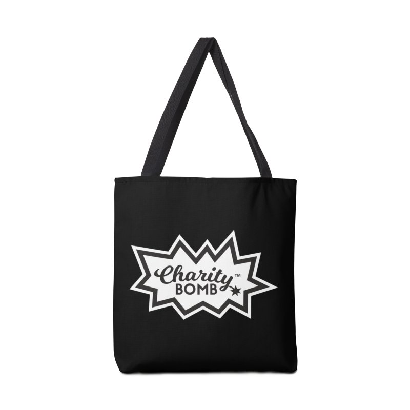 Charity bomb logo Accessories Bag by Charity Bomb
