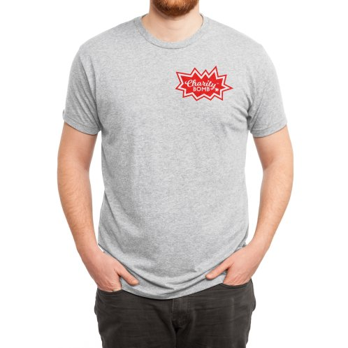 image for Charity Bomb logo red & white