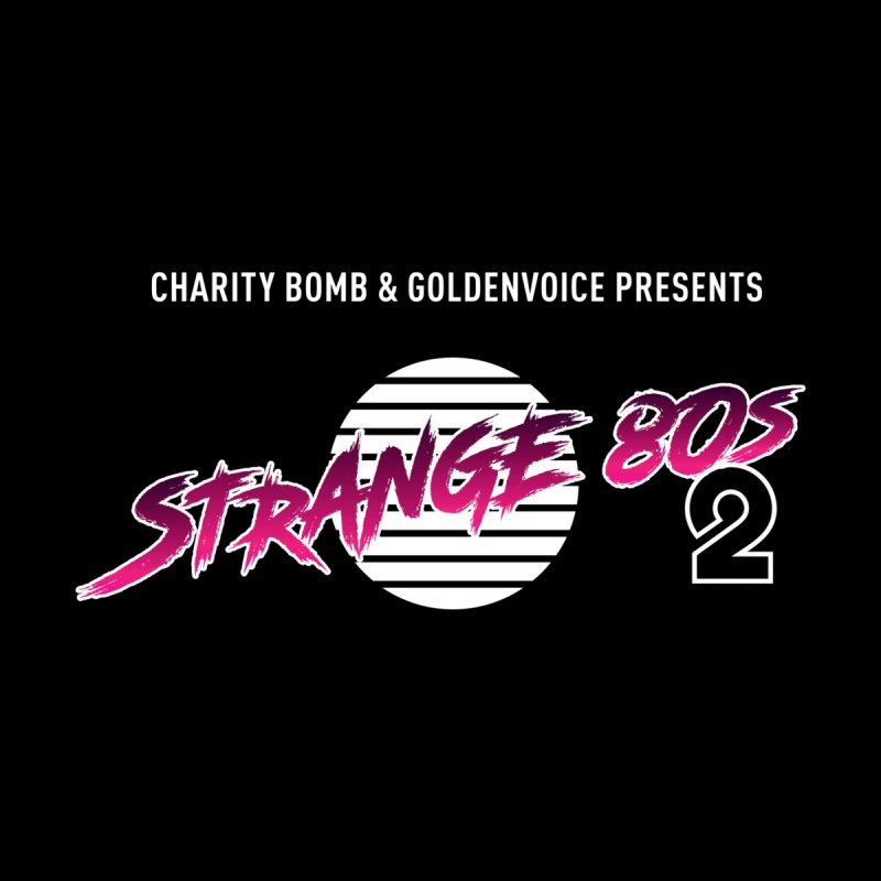 Strange 80s Men's T-Shirt by Charity Bomb