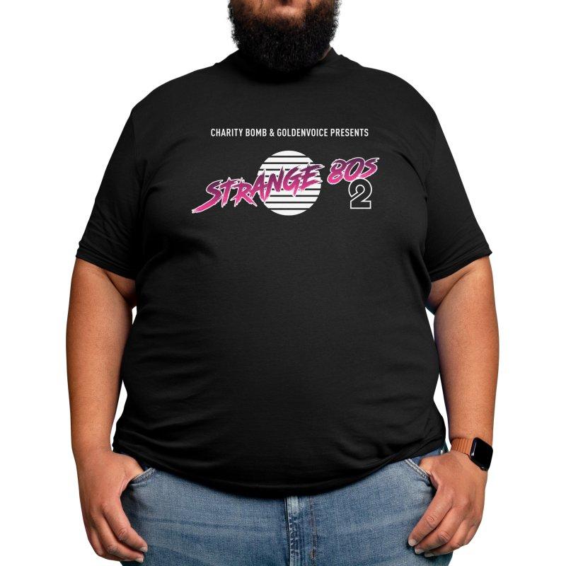 Strange 80s Men's T-Shirt by Charity Bomb