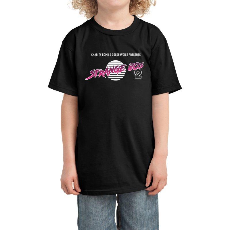 Strange 80s Kids T-Shirt by Charity Bomb