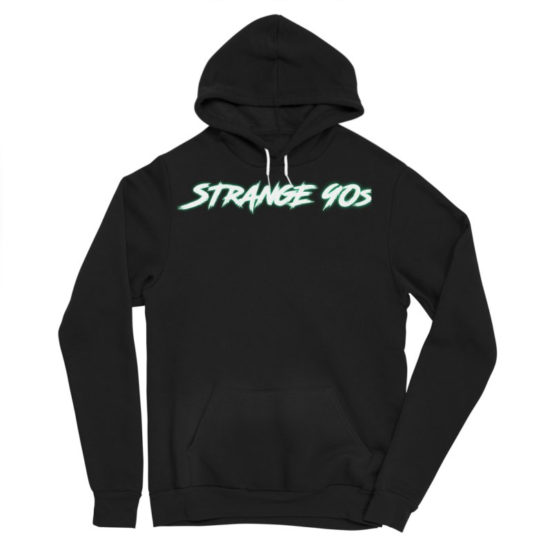 Strange 90s Men's Pullover Hoody by Charity Bomb