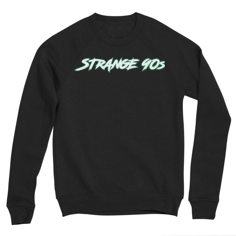 Strange 90s Men's Sweatshirt by Charity Bomb