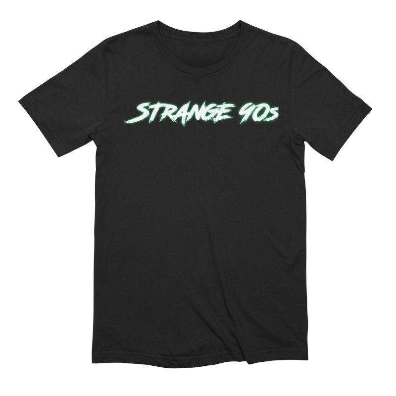 Strange 90s Men's T-Shirt by Charity Bomb