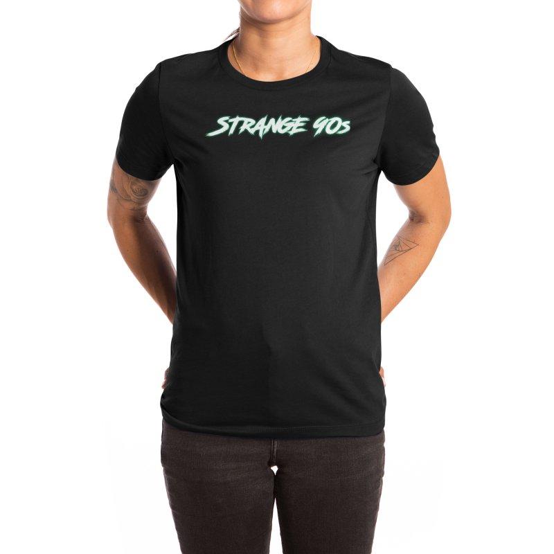 Strange 90s Women's T-Shirt by Charity Bomb