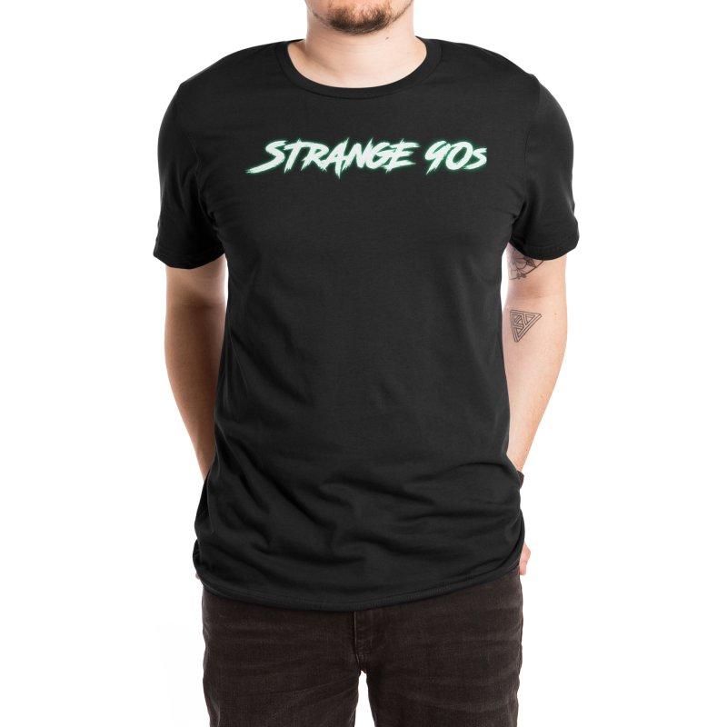 Strange 90s Men's T-Shirt by Charity Bomb