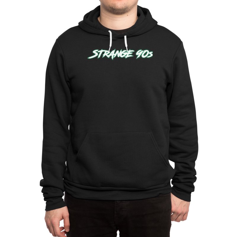 Strange 90s Men's Pullover Hoody by Charity Bomb