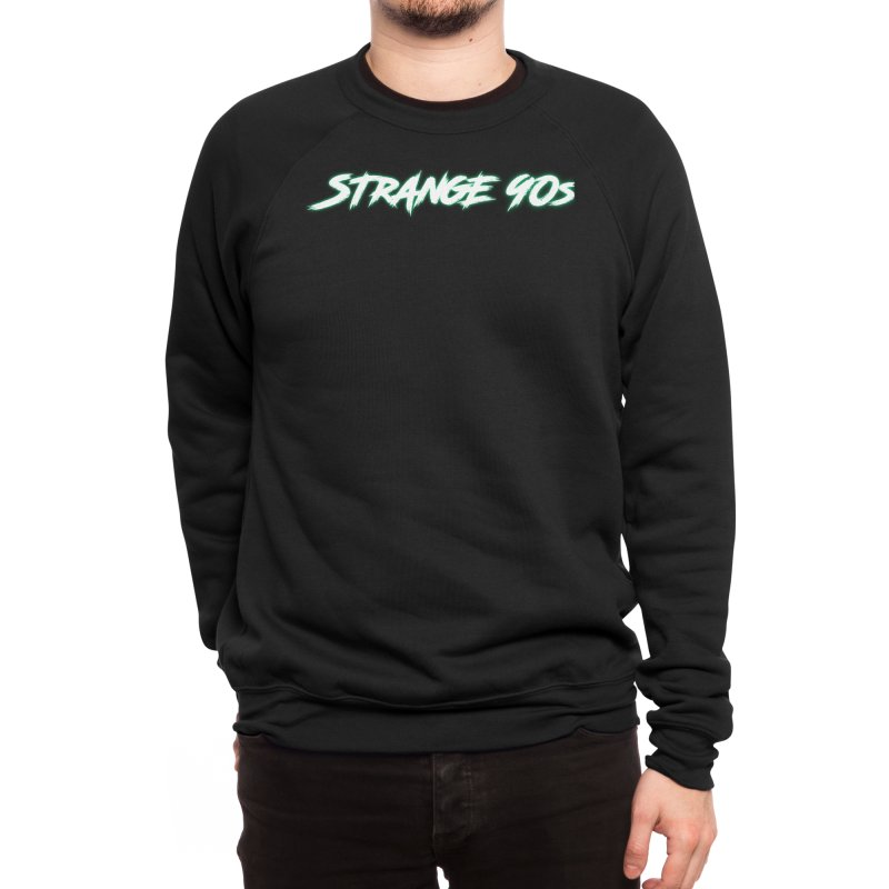 Strange 90s Men's Sweatshirt by Charity Bomb