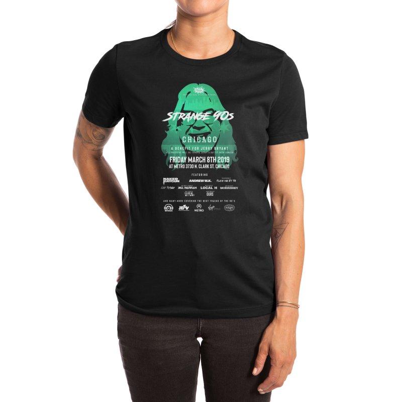 JBTV x Strange 90s Women's T-Shirt by Charity Bomb