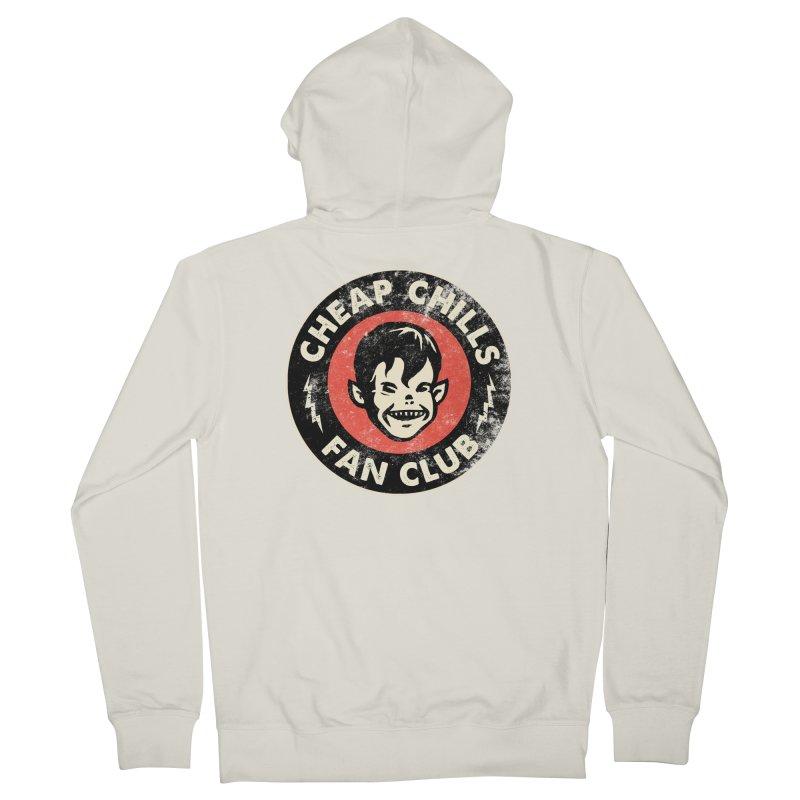 Cheap Chills Fan Club Men's Zip-Up Hoody by Cheap Chills Fan Club