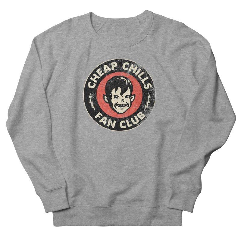 Cheap Chills Fan Club Men's French Terry Sweatshirt by Cheap Chills Fan Club