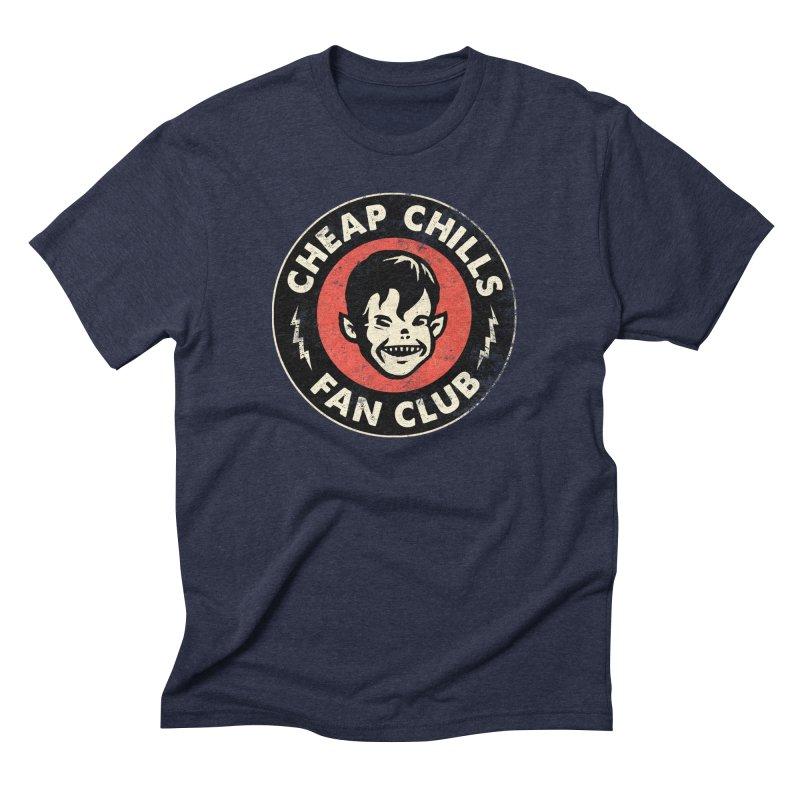 Cheap Chills Fan Club Men's Triblend T-Shirt by Cheap Chills Fan Club