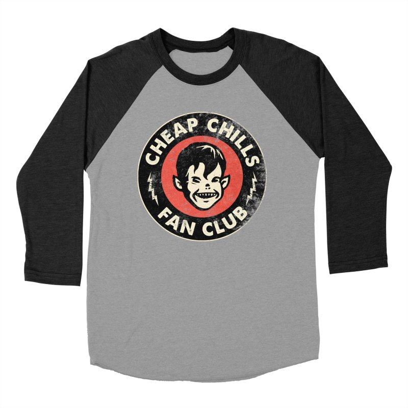 Cheap Chills Fan Club Women's Baseball Triblend T-Shirt by Cheap Chills Fan Club