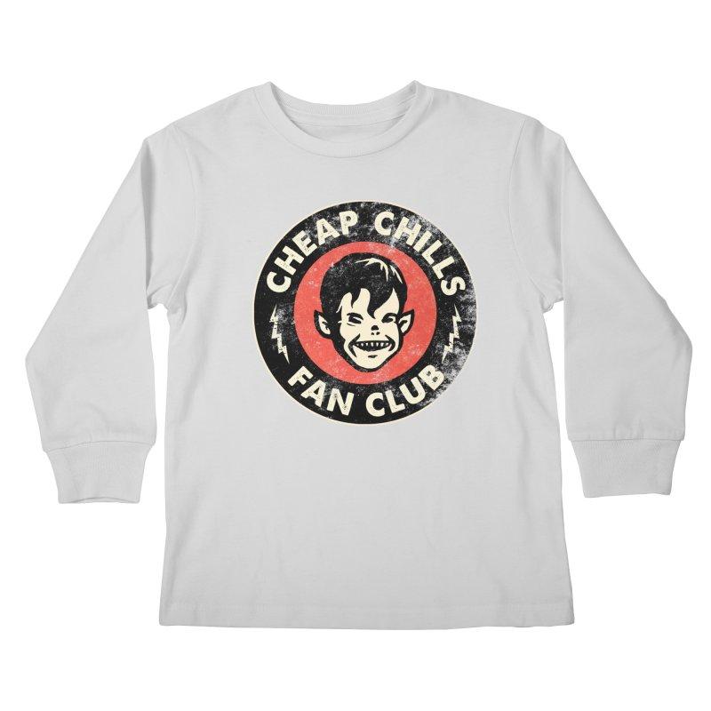 Cheap Chills Fan Club Kids Longsleeve T-Shirt by Cheap Chills Fan Club