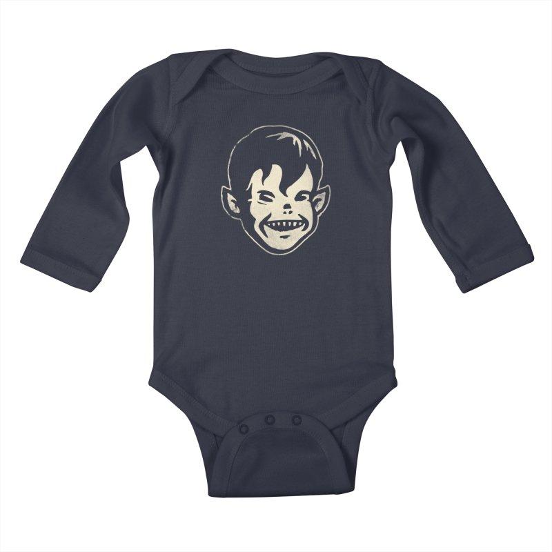 Big Cheap Chill Kids Baby Longsleeve Bodysuit by Cheap Chills Fan Club
