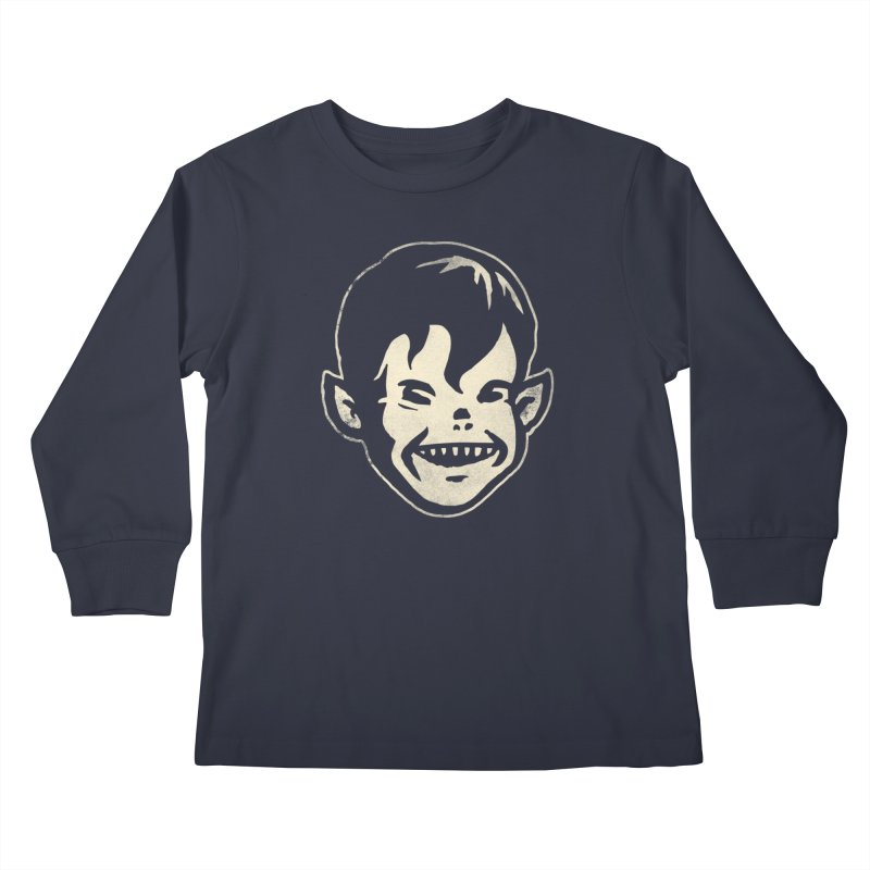 Big Cheap Chill Kids Longsleeve T-Shirt by Cheap Chills Fan Club