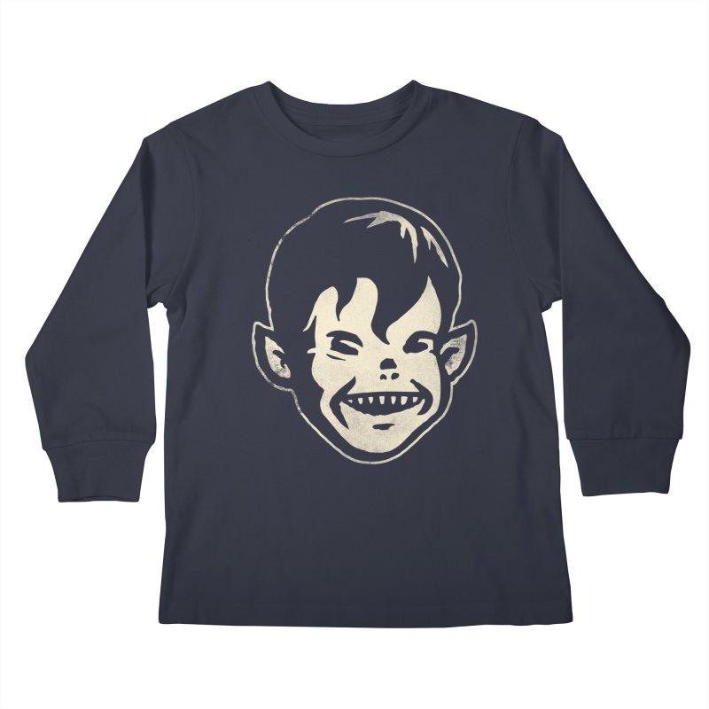 Big Cheap Chill Kids Longsleeve T-Shirt by Cheap Chills Fan Club