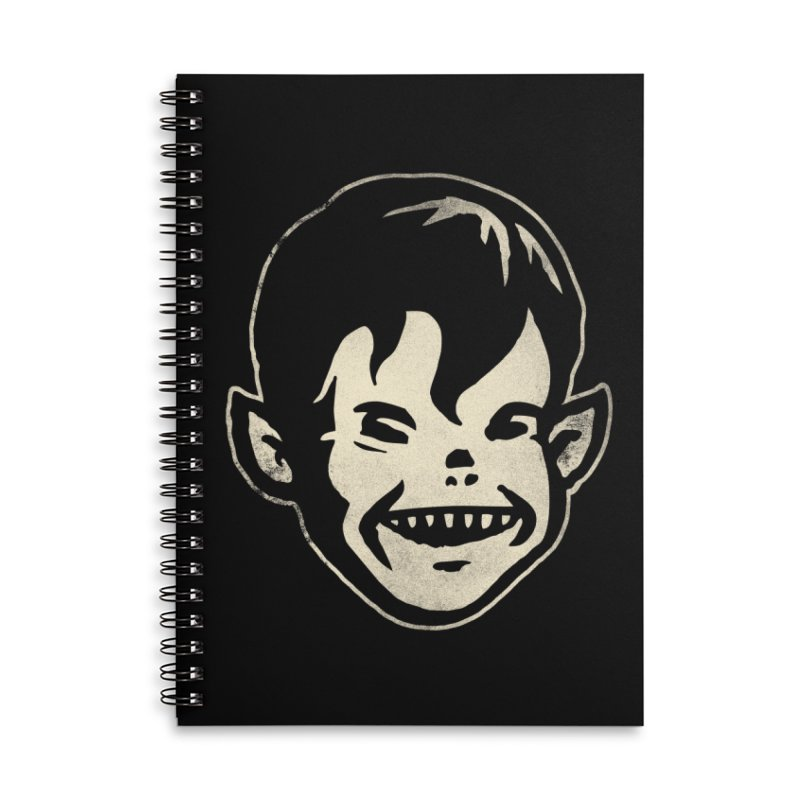 Big Cheap Chill Accessories Lined Spiral Notebook by Cheap Chills Fan Club