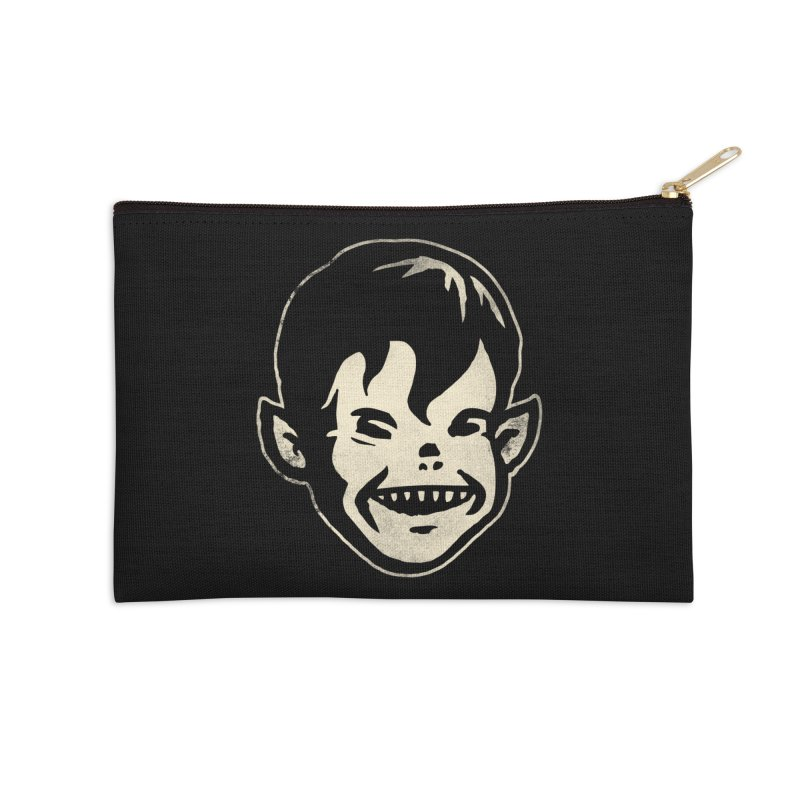Big Cheap Chill Accessories Zip Pouch by Cheap Chills Fan Club