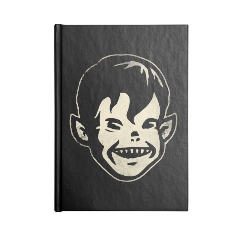 Big Cheap Chill Accessories Lined Journal Notebook by Cheap Chills Fan Club