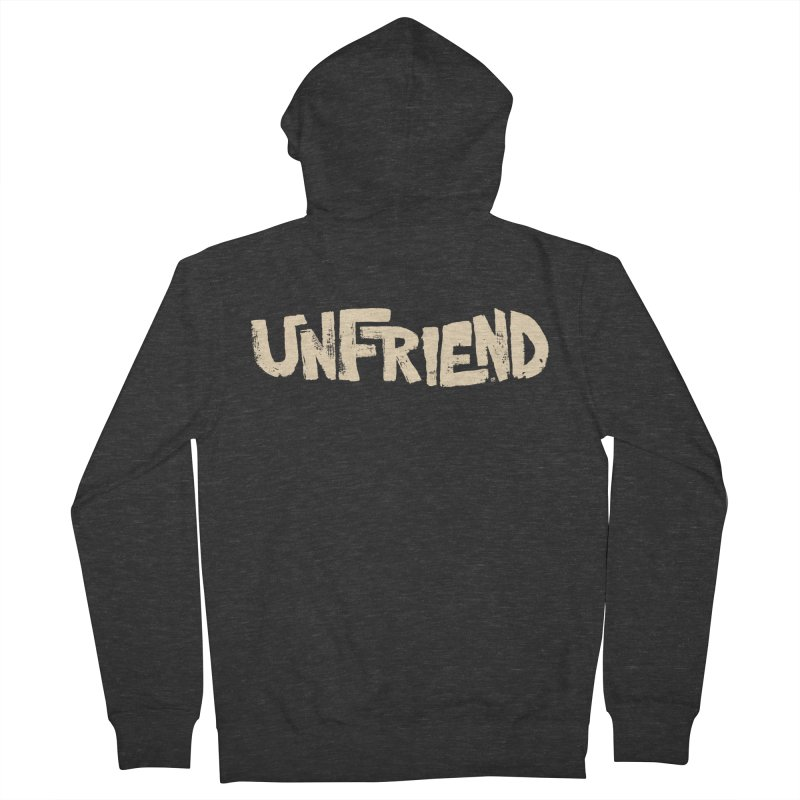 UNFRIEND Men's Zip-Up Hoody by Cheap Chills Fan Club