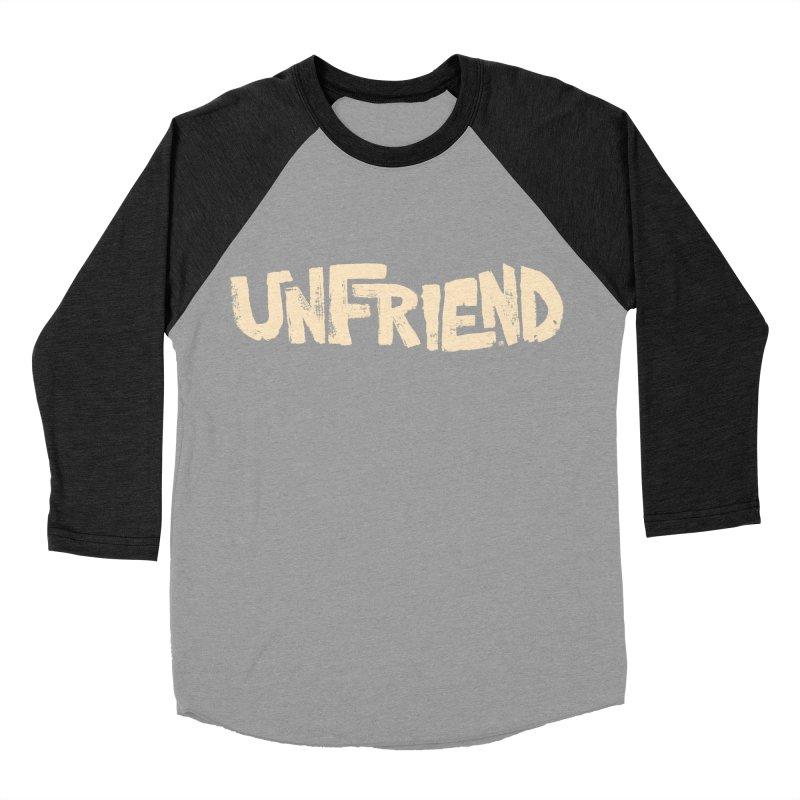 UNFRIEND Women's Baseball Triblend T-Shirt by Cheap Chills Fan Club