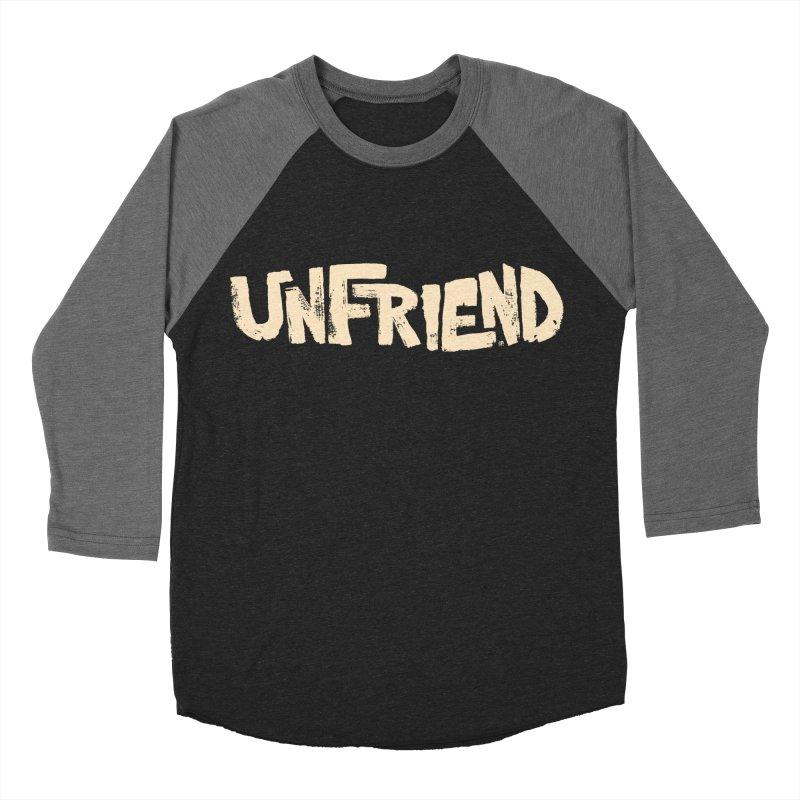 UNFRIEND Men's Baseball Triblend T-Shirt by Cheap Chills Fan Club