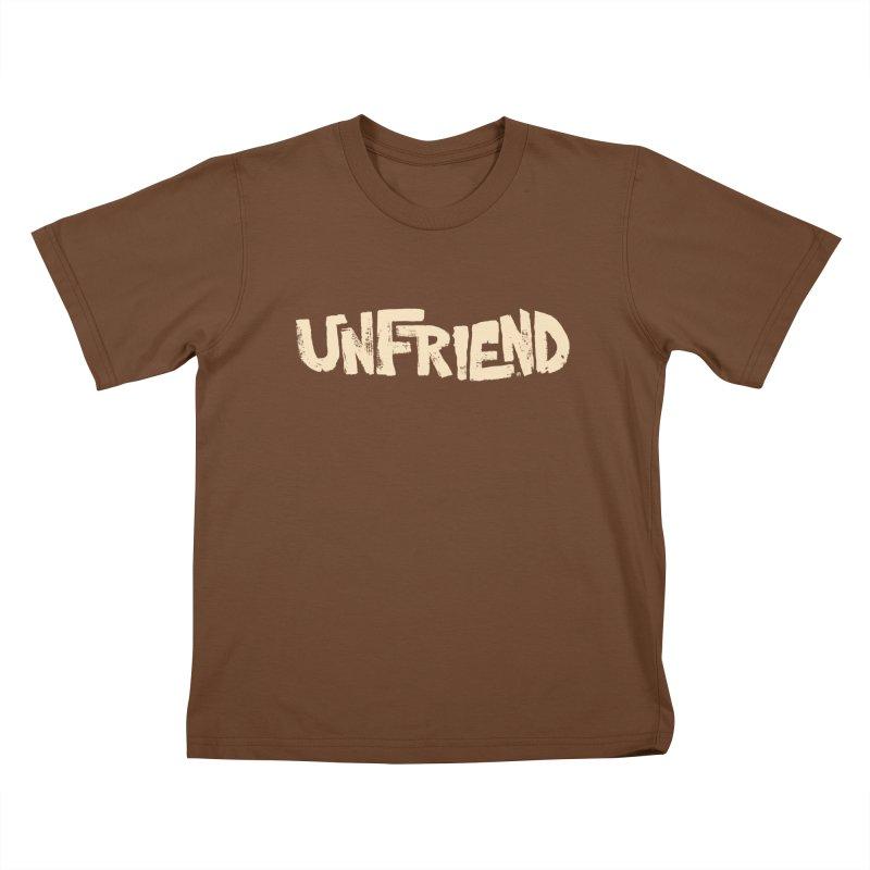 UNFRIEND Kids T-shirt by Cheap Chills Fan Club