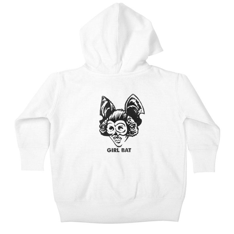 Girl Bat 2 Kids Baby Zip-Up Hoody by Cheap Chills Fan Club