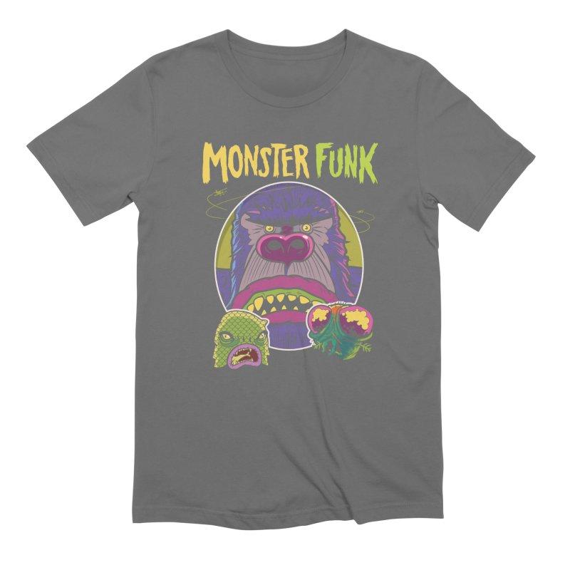Monster Funk - Official T-shirt Men's T-Shirt by Cheap Chills Fan Club