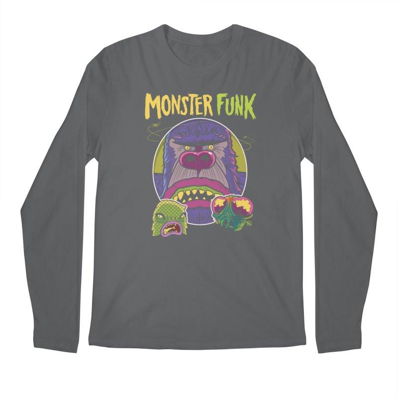Monster Funk - Official T-shirt Men's Longsleeve T-Shirt by Cheap Chills Fan Club