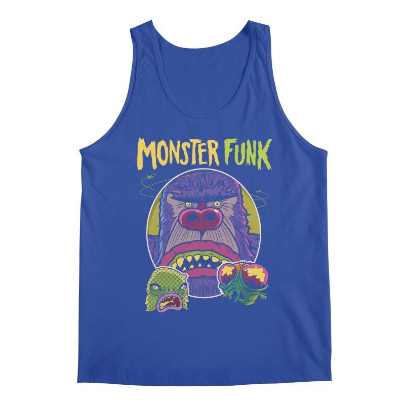 Monster Funk - Official T-shirt Men's Tank by Cheap Chills Fan Club