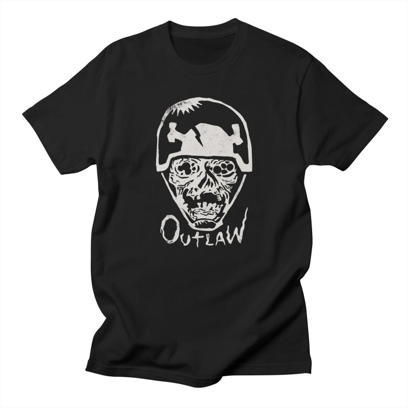 Outlaw Women's Unisex T-Shirt by Cheap Chills Fan Club