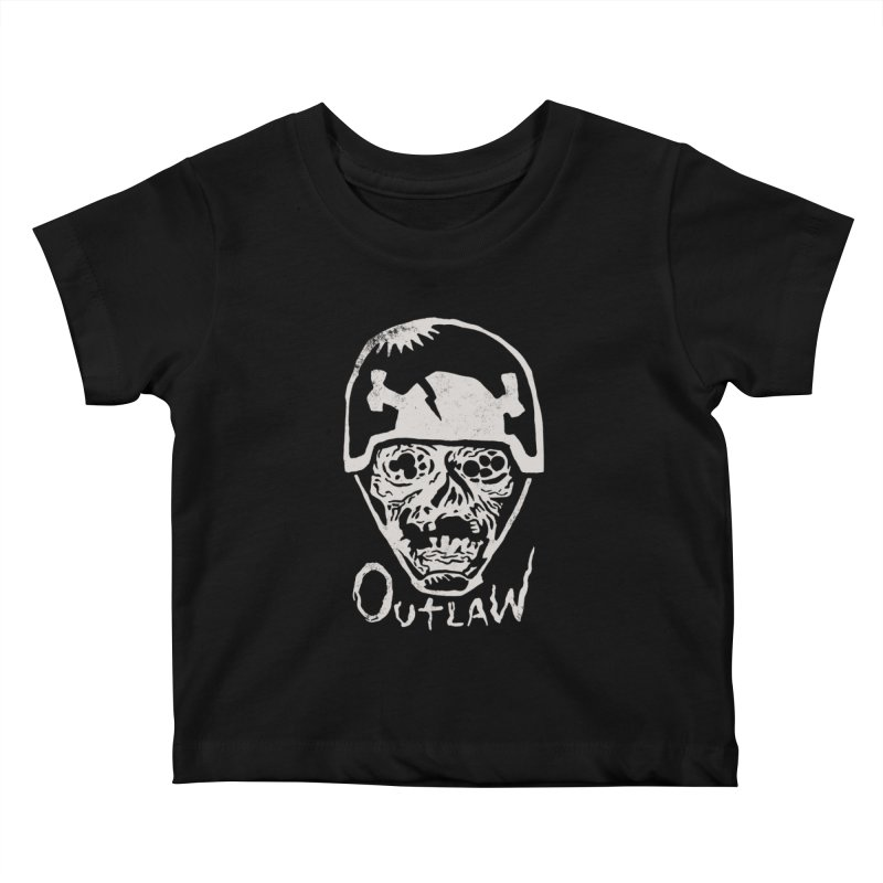 Outlaw Kids Baby T-Shirt by Cheap Chills Fan Club