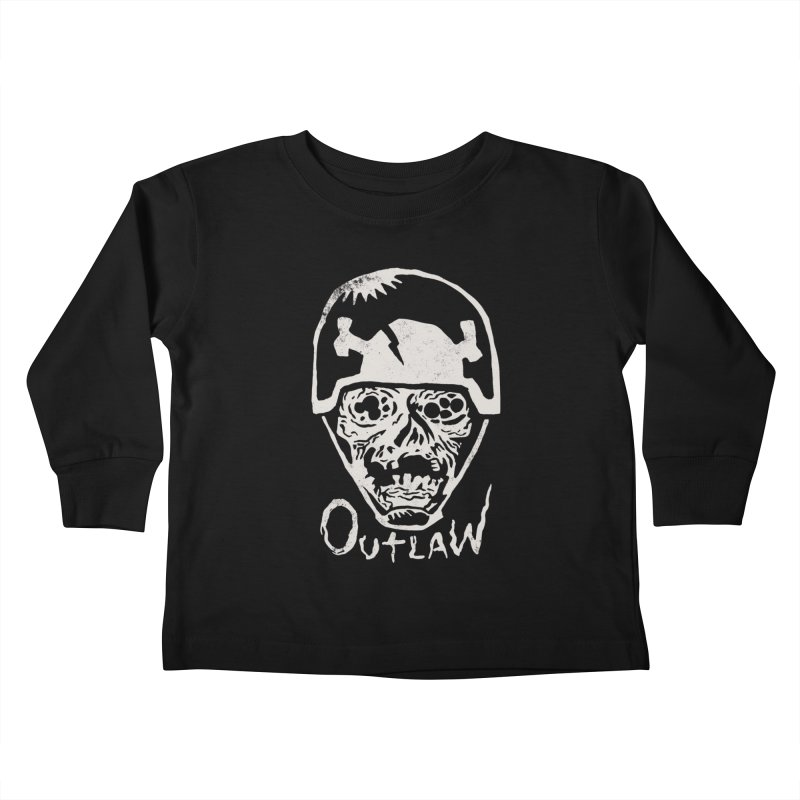 Outlaw Kids Toddler Longsleeve T-Shirt by Cheap Chills Fan Club