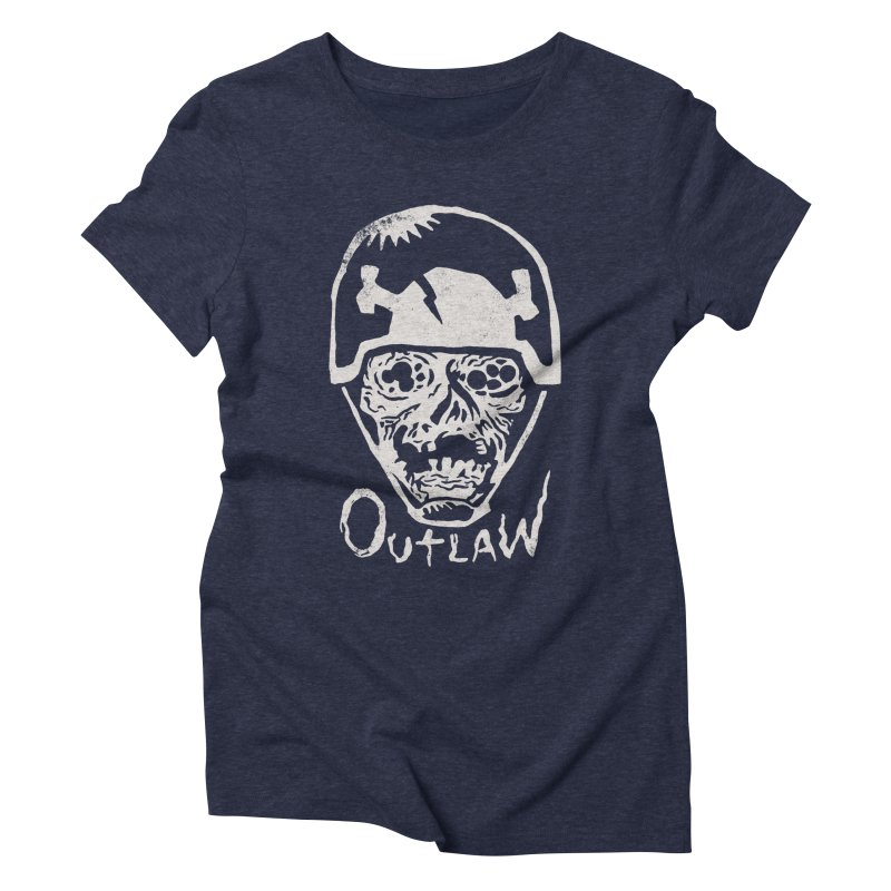 Outlaw Women's Triblend T-Shirt by Cheap Chills Fan Club