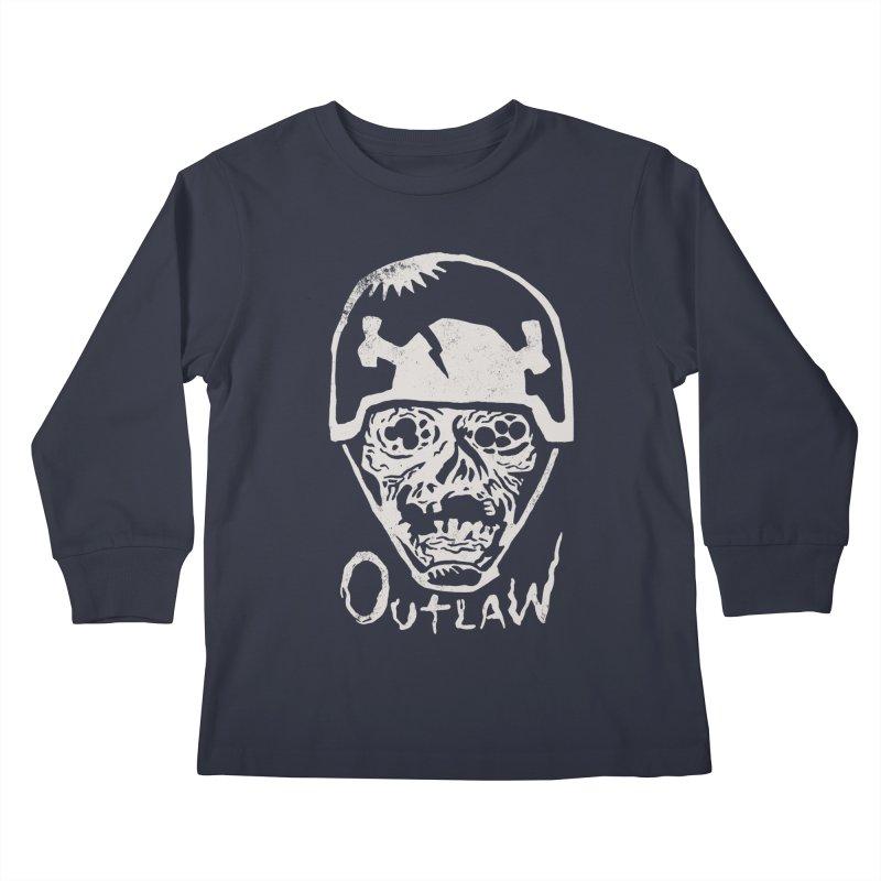 Outlaw Kids Longsleeve T-Shirt by Cheap Chills Fan Club
