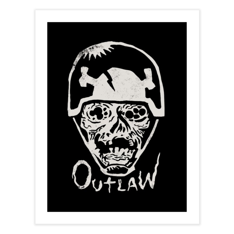 Outlaw Home Fine Art Print by Cheap Chills Fan Club