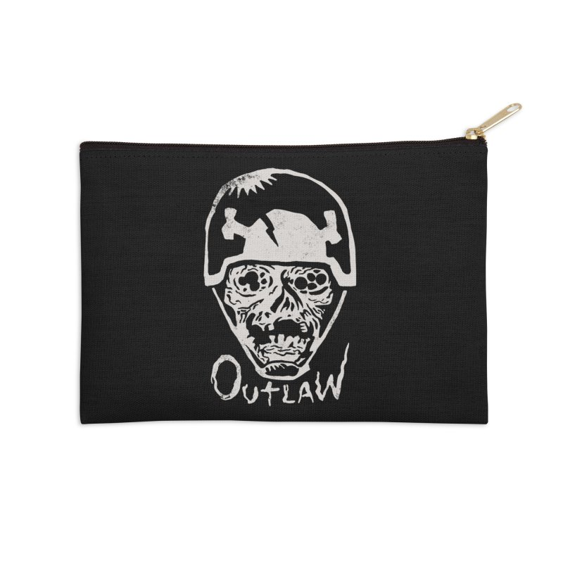 Outlaw Accessories Zip Pouch by Cheap Chills Fan Club