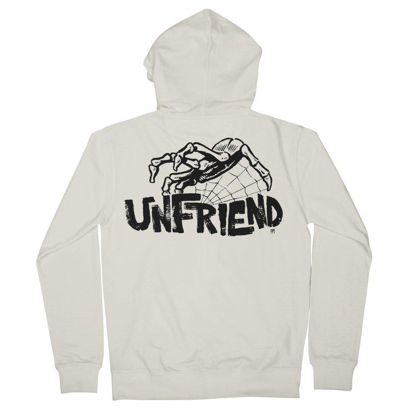 Unfriendead Women's Zip-Up Hoody by Cheap Chills Fan Club