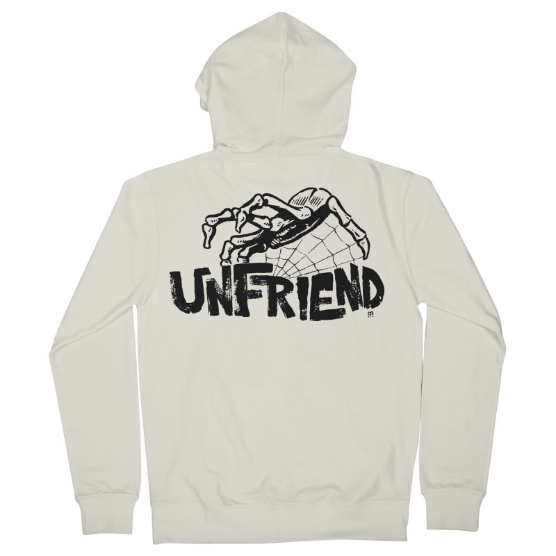 Unfriendead Men's Zip-Up Hoody by Cheap Chills Fan Club