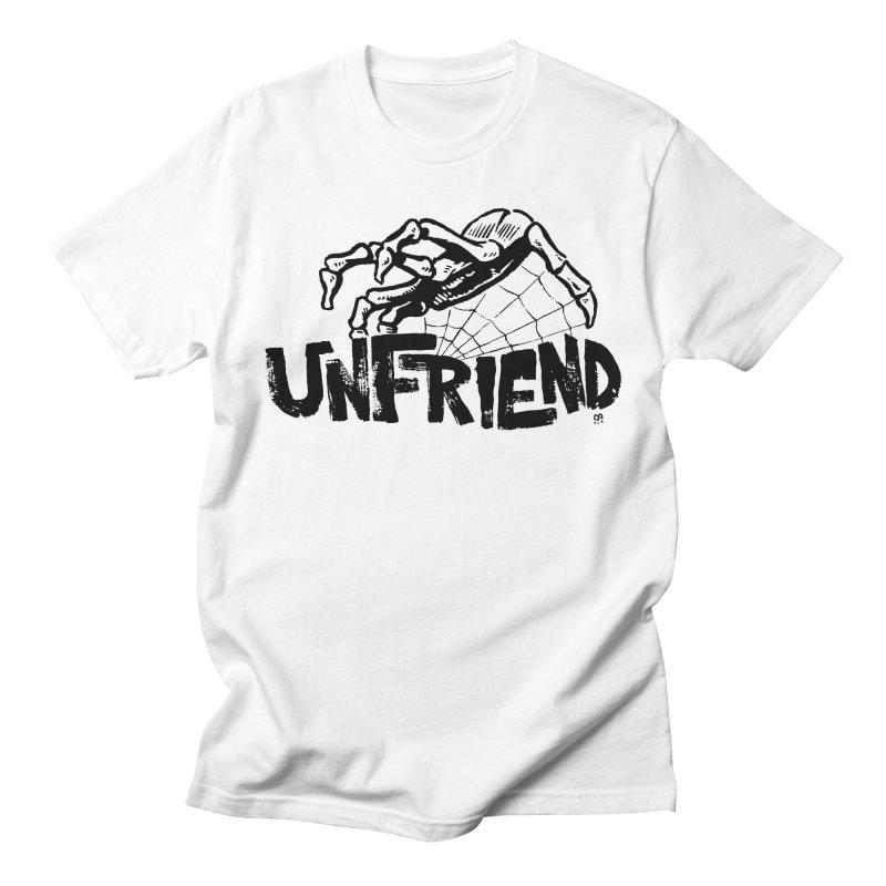 Unfriendead in Men's T-shirt White by Cheap Chills Fan Club